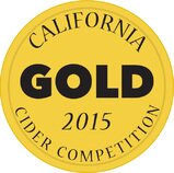 California Cider Competition Gold